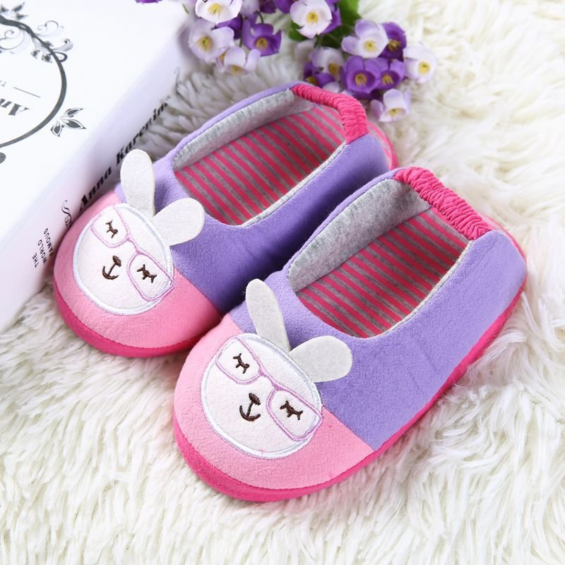 Best Cute Rubbit Kids Slippers Children Home Shoes Baby Shoes With Pictures