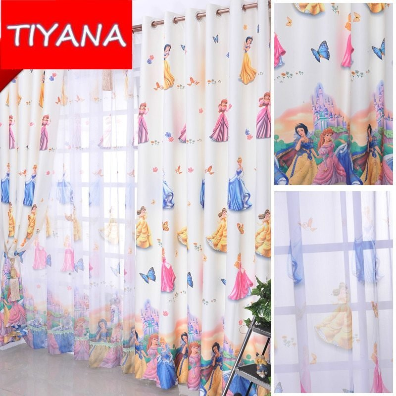 Best Cartoon Window Decoration For Kids Bedroom Cute Princess With Pictures