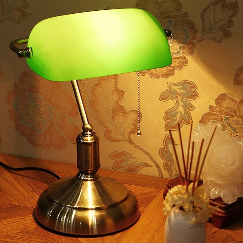 Best Personality Retro Table Lamps Shell Small Bedside Lamp Bedroom Living Room Coffee Gifts Table With Pictures