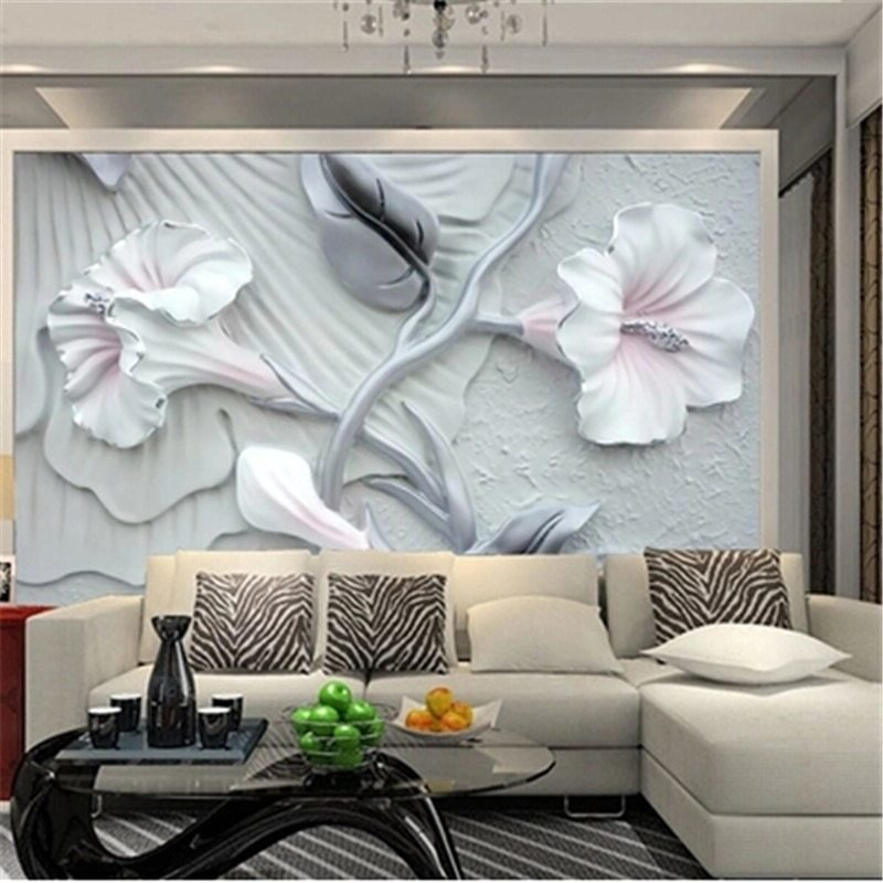 Best Beibehang Custom 3D Photo Wallpaper New Bedroom Television With Pictures