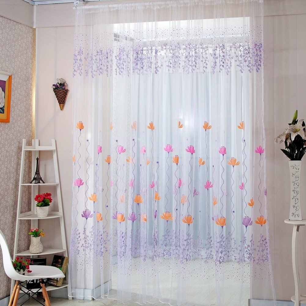 Best Home Decor Drapes Sheer Window Curtains For Living Room With Pictures