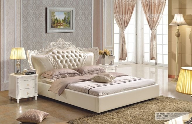 Best 2016 Hot Sale Sale Modern No Synthetic Leather Bedroom With Pictures