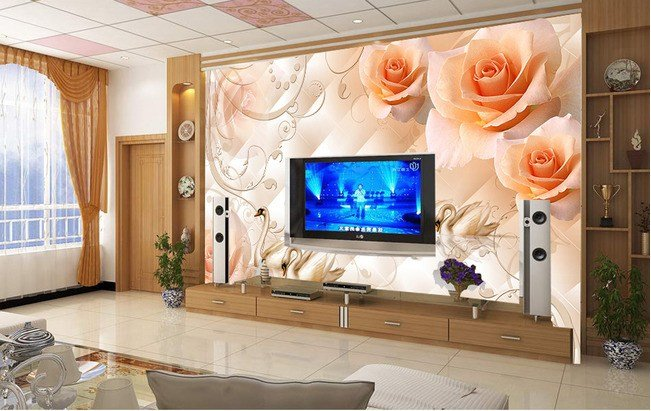 Best Aliexpress Com Buy 3D Stereoscopic Wallpaper Modern With Pictures