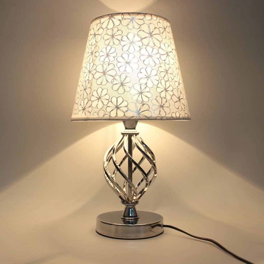 Best Modern Style Table Lamp Bedside Bedroom Table Light Ac With Pictures