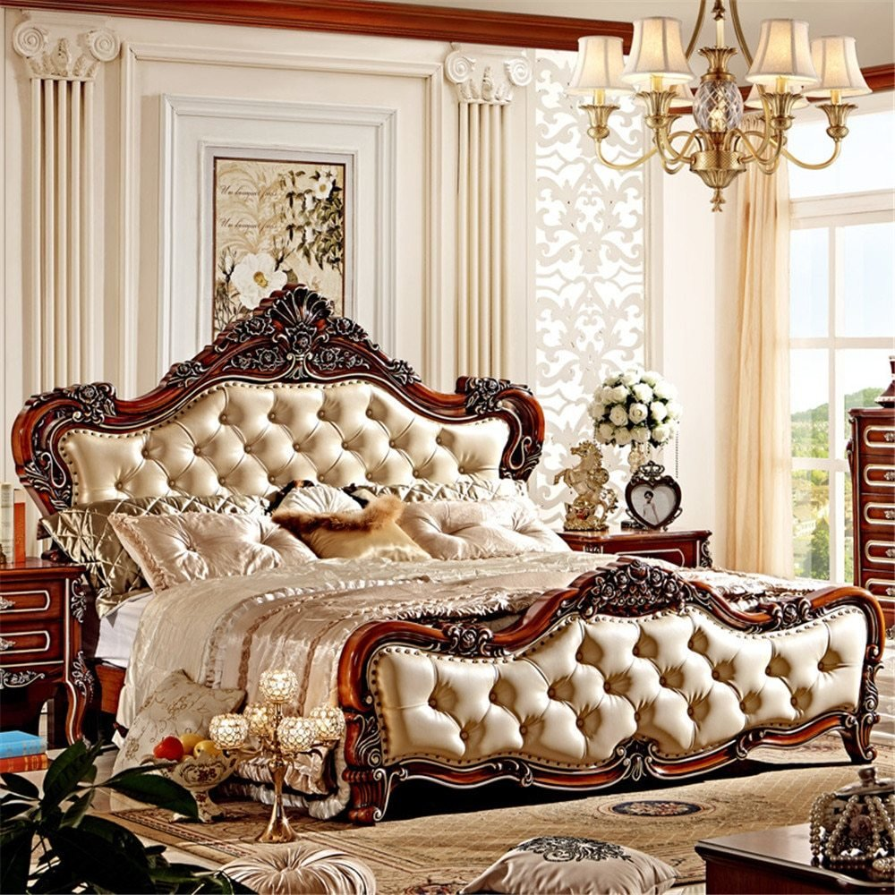 Best 2015 Classic Design European Furniture Of Bedroom With Pictures