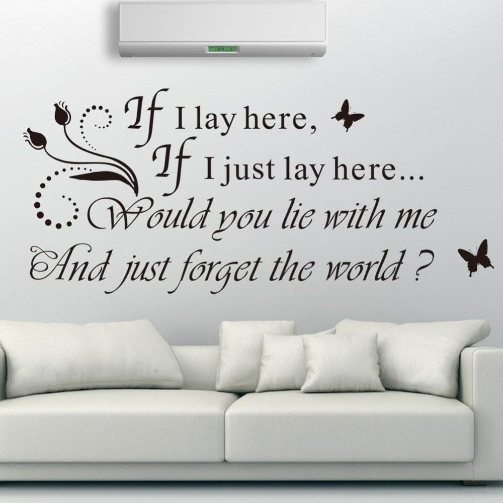 Best Romantic Love Messages Wall Decals Quotes Headboard For With Pictures