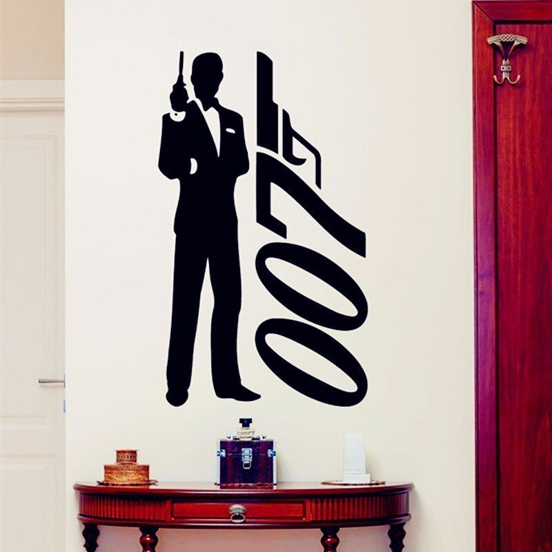 Best James Bond Wall Sticker 007 Movie Superhero Posters Boys With Pictures