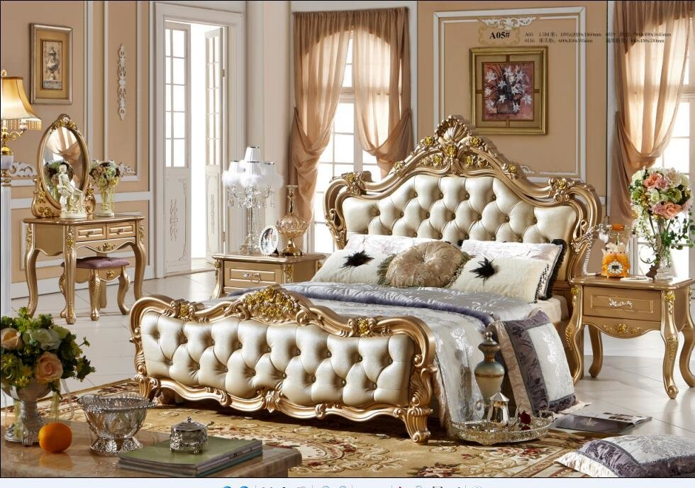 Best Luxury French Style Bedroom Furniture Sets 0409 A05 In With Pictures