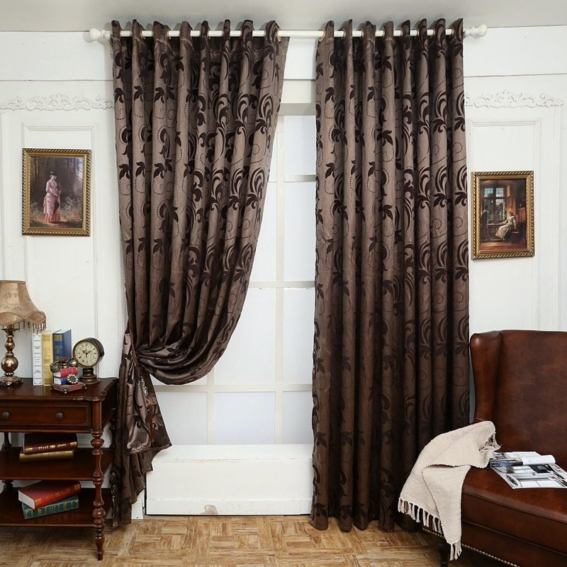 Best Aliexpress Com Buy Geometry Curtains For Living Room With Pictures