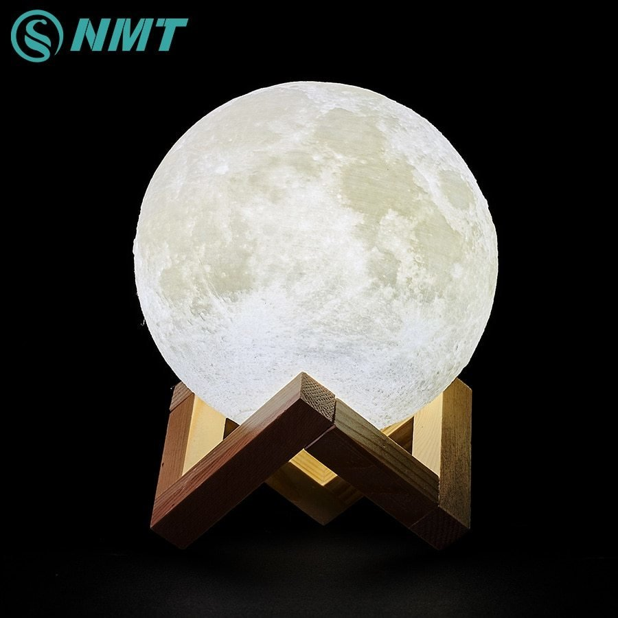 Best 3D Print Led Moon Light Touch Switch Led Bedroom Night With Pictures
