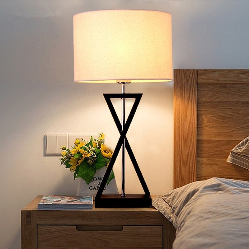 Best Aliexpress Com Buy Mordern Nordic Fabric Table Lamp With Pictures
