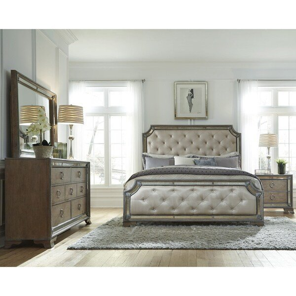 Best Shop Mariah 5 Piece Queen Size Bedroom Set Free Shipping With Pictures
