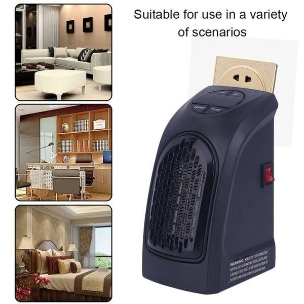 Best Shop Handy 350 Watts Wall Outlet Space Heater For Bathroom With Pictures