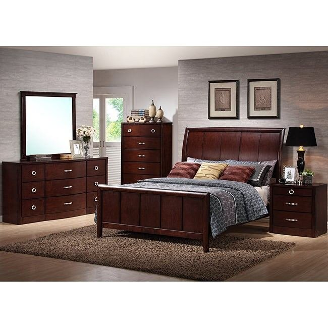 Best Shop Argonne Queen Size 5 Piece Modern Bedroom Set With Pictures