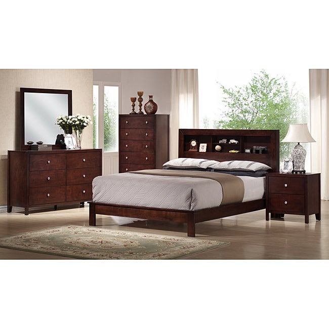 Best Verra 5 Piece Queen Size Bedroom Set Free Shipping Today Overstock Com 13975631 With Pictures