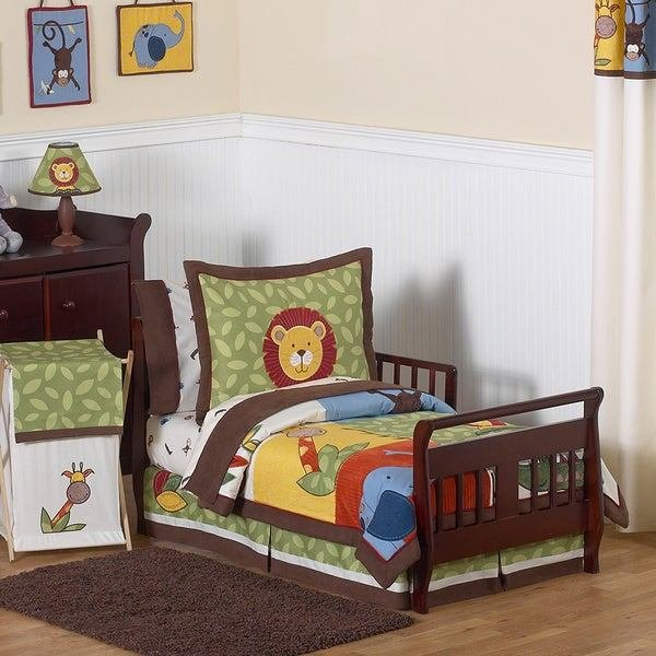 Best Shop Sweet Jojo Designs Boy 5 Piece Jungle Time Toddler With Pictures