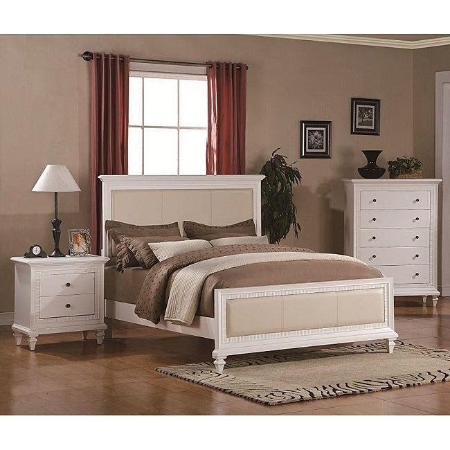 Best Kingdom White 3 Piece Queen Size Bedroom Set Free With Pictures