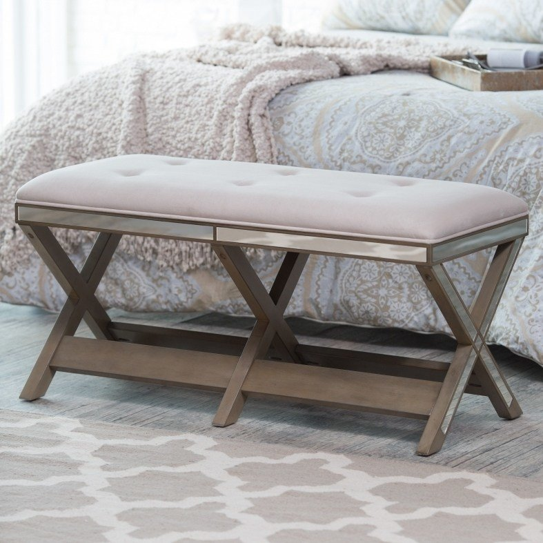 Best Photos Mirrored Bedroom Bench Badotcom Com With Pictures