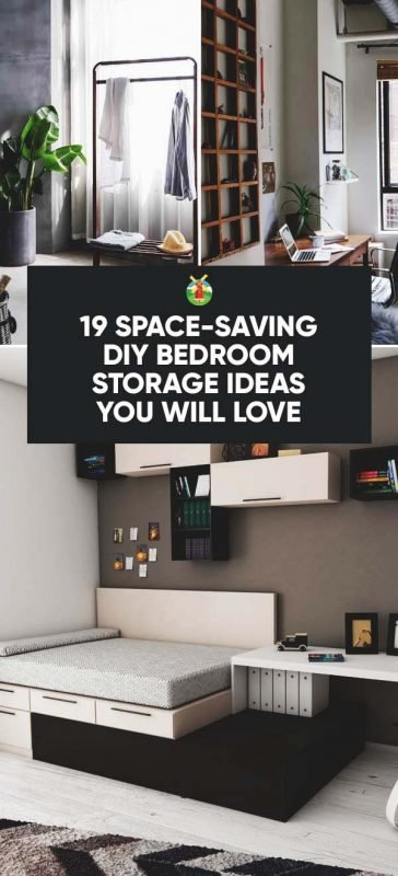 Best 19 Space Saving Diy Bedroom Storage Ideas You Will Love With Pictures