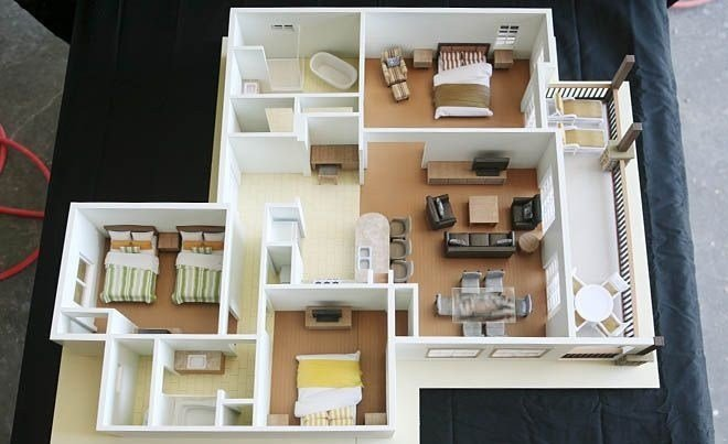"Best 50 Three ""3"" Bedroom Apartment House Plans With Pictures"