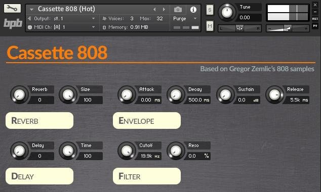 Best Bpb Cassette 808 Free Drum Machine Sample Pack Released With Pictures