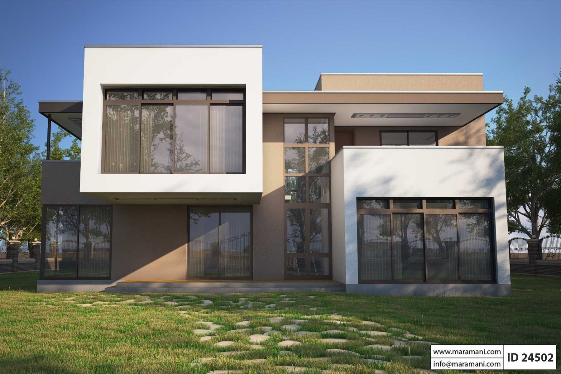 Best Four Bedroom Modern House Design Id 24502 House Plans With Pictures