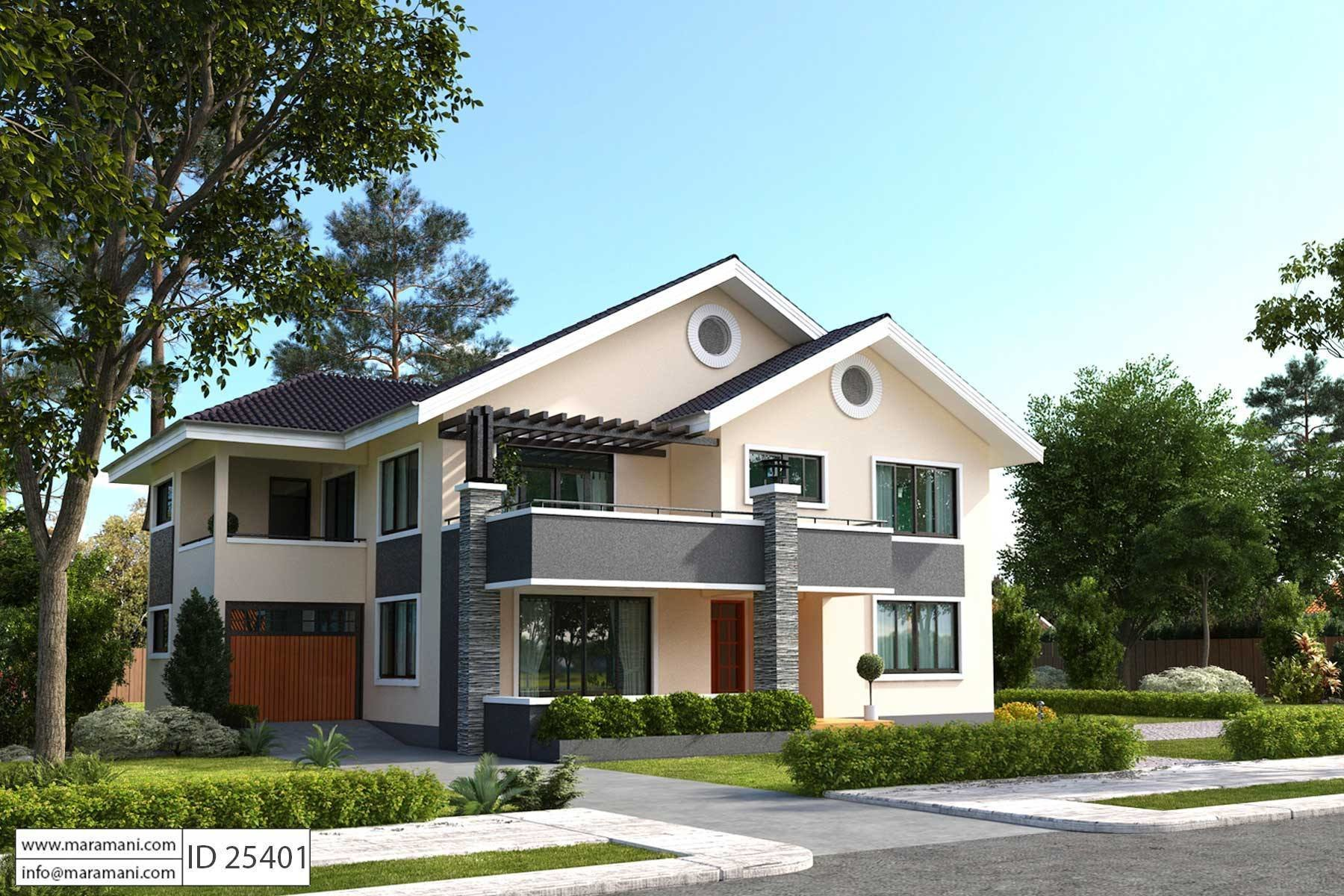 Best 5 Bedroom House Plan Id 25401 Floor Plans By Maramani With Pictures