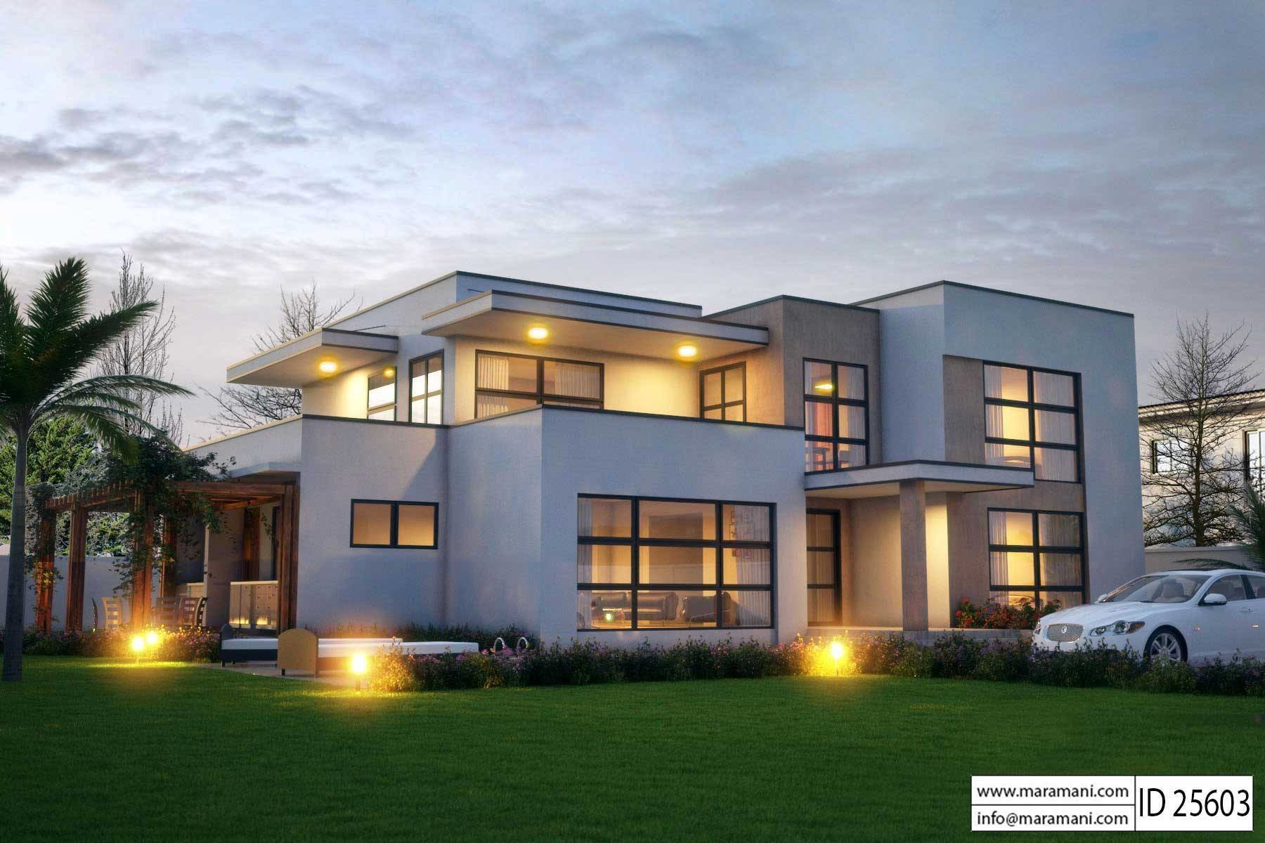 Best Modern 5 Bedroom House Design Id 25603 Floor Plans By With Pictures