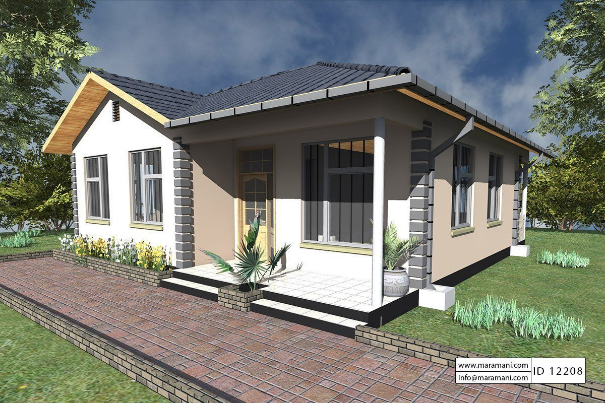 Best 2 Bedrooms House Plan Id 12208 House Plans By Maramani With Pictures