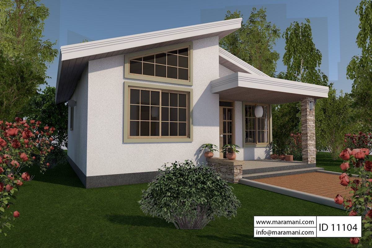 Best 1 Bedroom House Plan Id 11104 House Designs By Maramani With Pictures