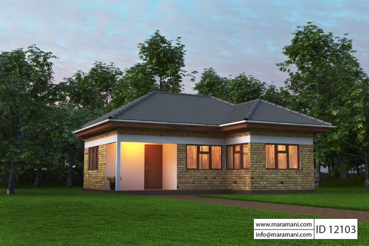 Best Small House Plan 2 Bedroom Id 12103 House Designs By With Pictures