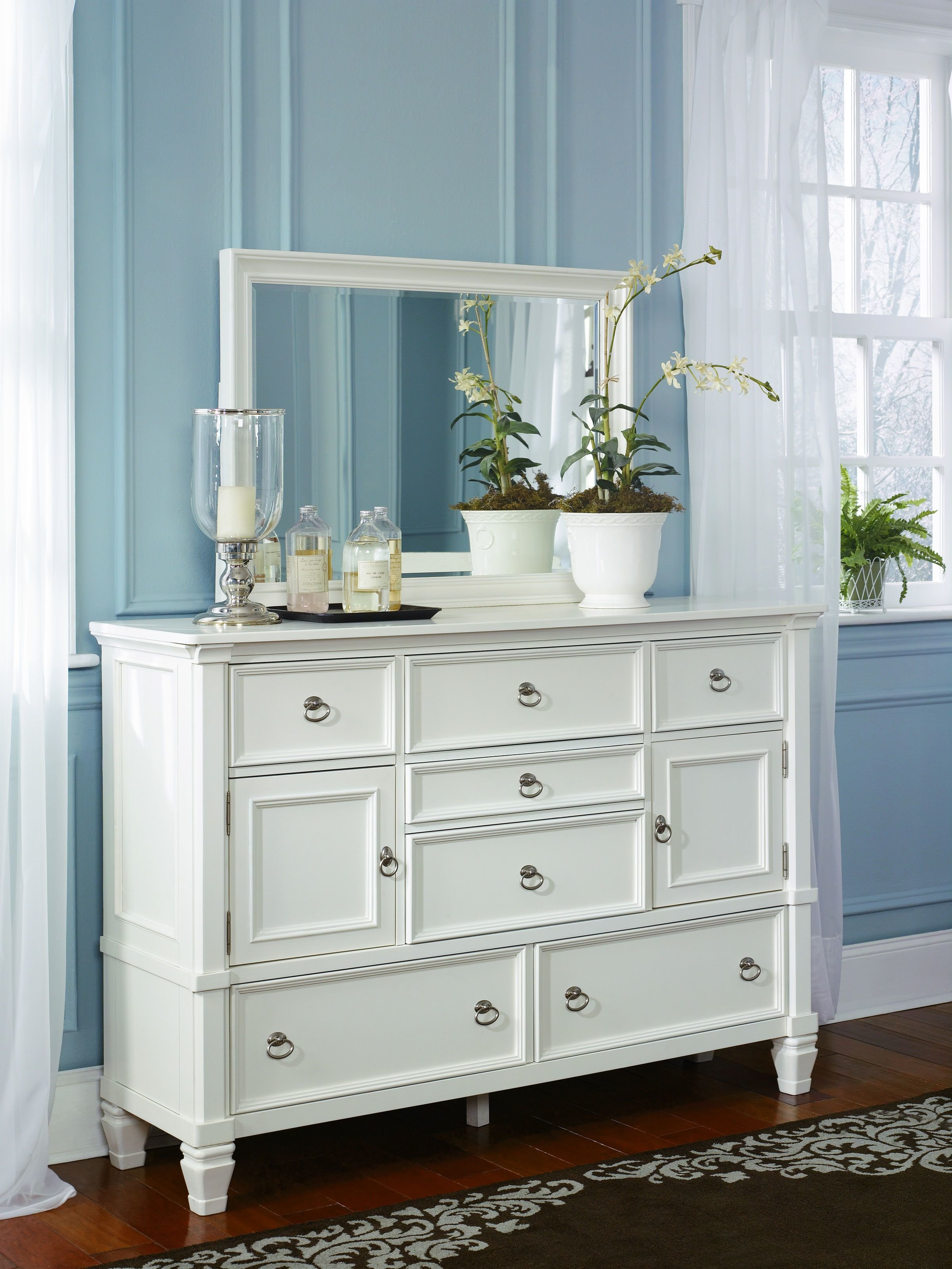 Best Ashley Furniture Prentice Dresser And Bedroom Mirror The Classy Home With Pictures