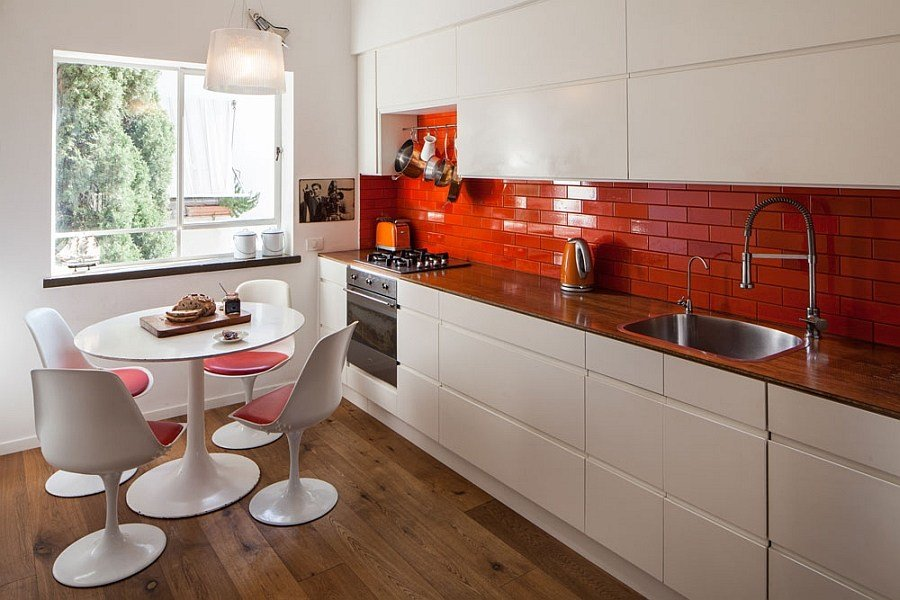 Best Small Apartment In Tel Aviv Gets A Trendy Modern Makeover With Pictures