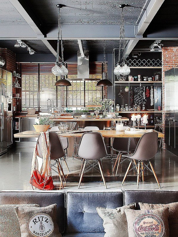 Best Exclusive Industrial Loft In Barcelona Invites Nature Indoors With Pictures
