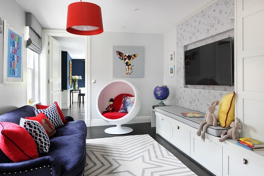 Best A Perfect Blend Combing The Playroom And Guestroom In Style With Pictures
