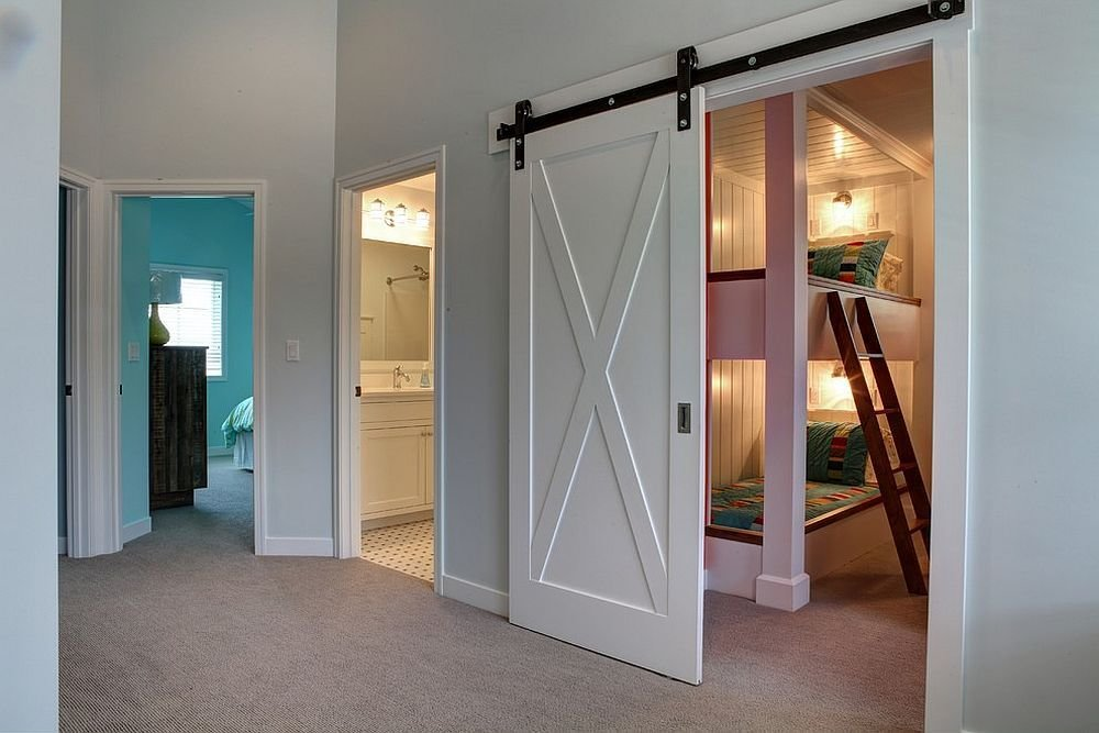 Best 27 Creative Kids' Rooms With Space Savvy Sliding Barn Doors With Pictures