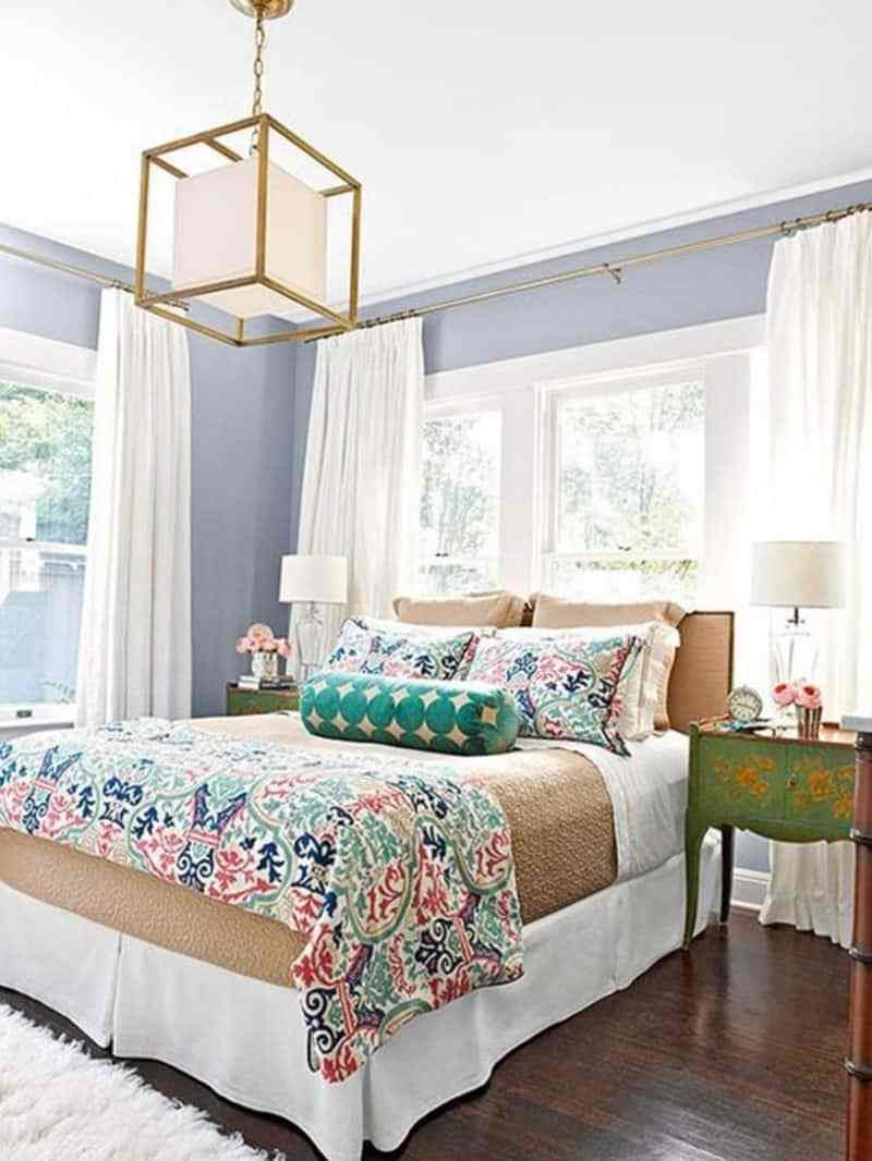 Best 50 Ideas For Placing A Bed In Front Of A Window With Pictures