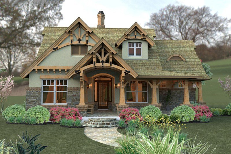 Best Craftsman Style House Plan 3 Beds 2 Baths 1421 Sq Ft With Pictures