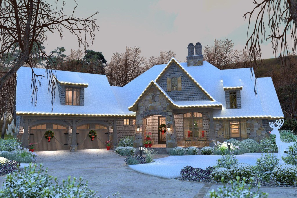 Best Craftsman Style House Plan 4 Beds 3 5 Baths 2482 Sq Ft With Pictures