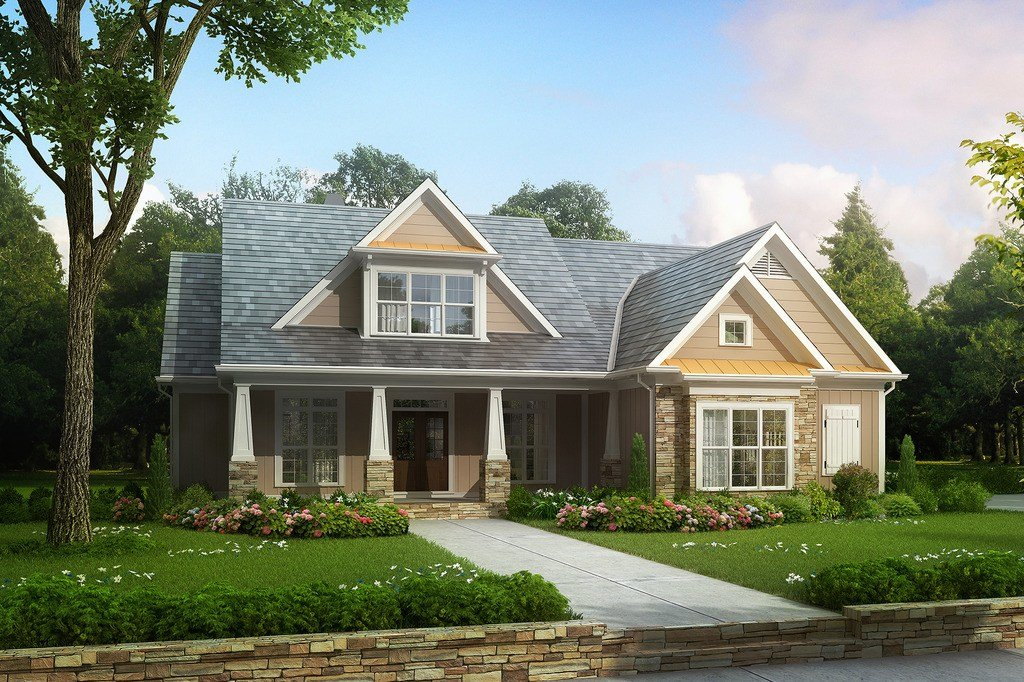 Best Craftsman Style House Plan 4 Beds 3 5 Baths 2619 Sq Ft With Pictures