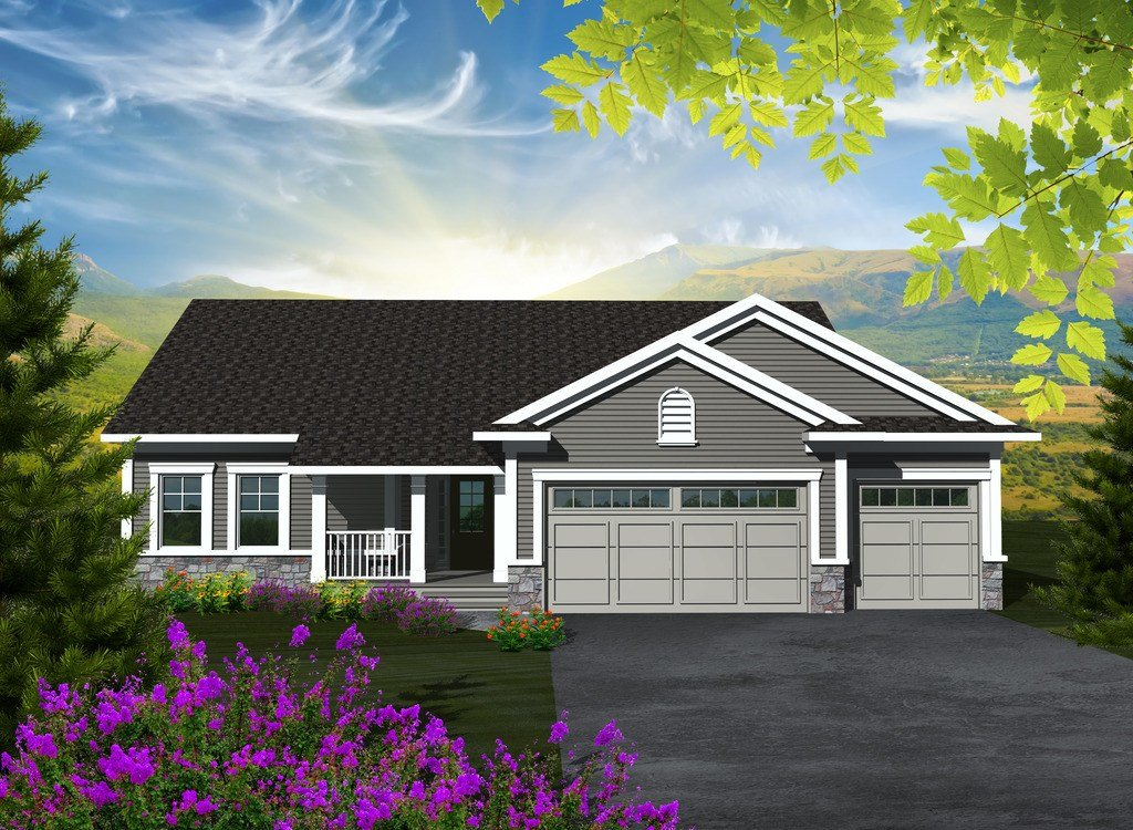 Best House Plan 3 Beds 2 Baths 1501 Sq Ft Plan 70 1131 With Pictures