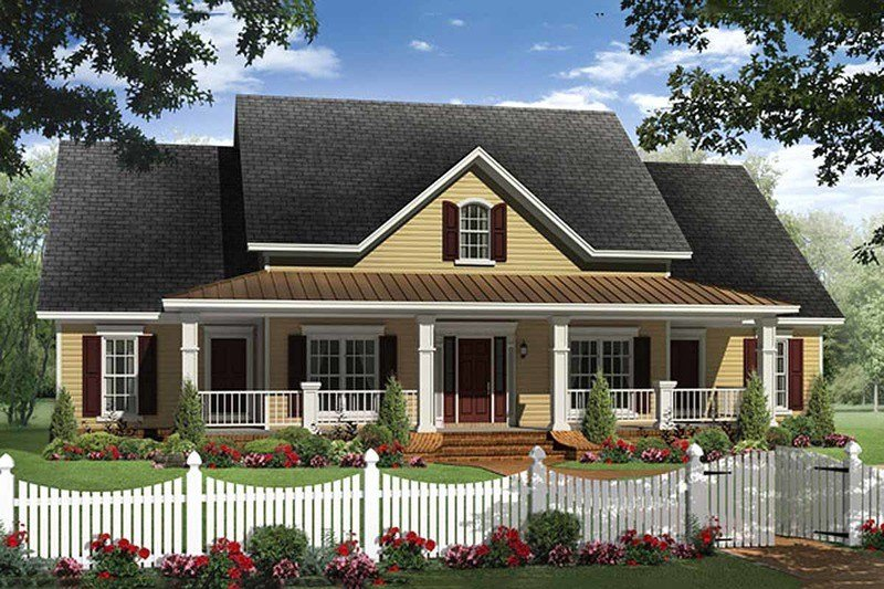 Best Farmhouse Style House Plan 4 Beds 2 5 Baths 2336 Sq Ft With Pictures