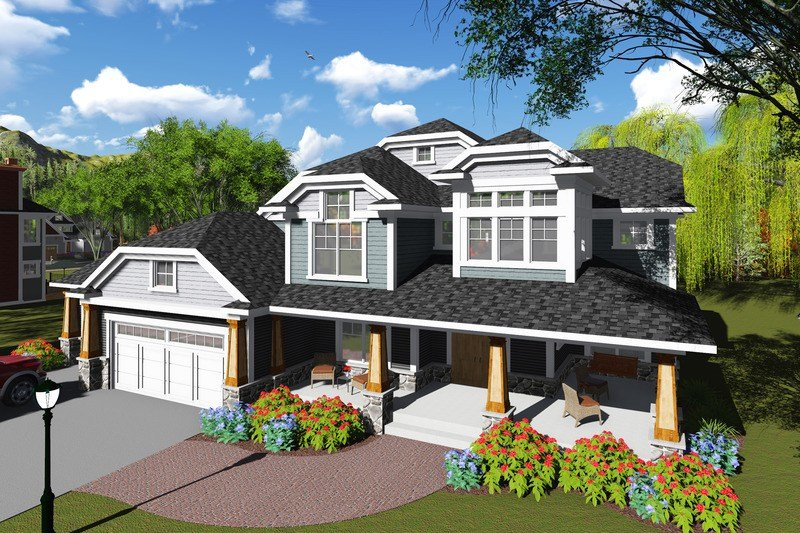 Best Craftsman Style House Plan 6 Beds 4 5 Baths 5157 Sq Ft With Pictures