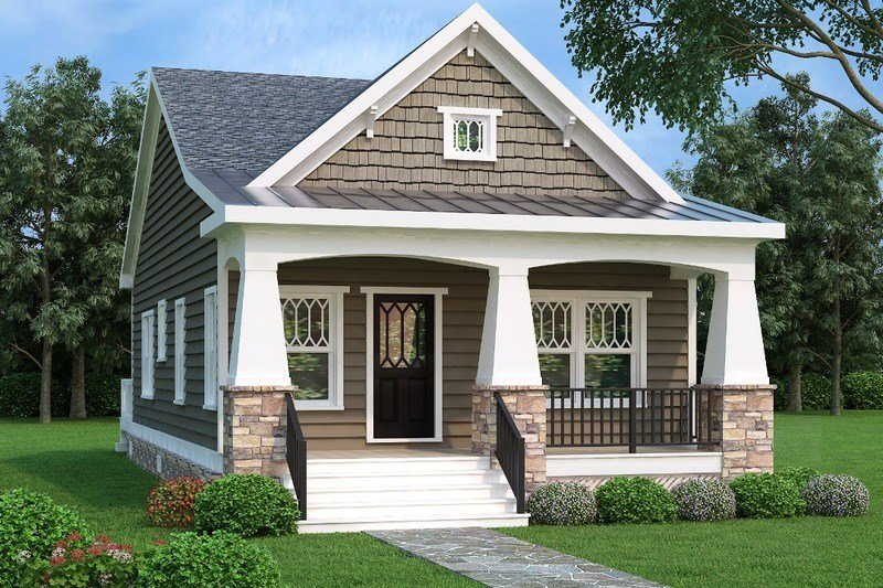 Best Bungalow Style House Plan 2 Beds 1 Baths 966 Sq Ft Plan With Pictures