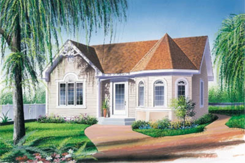 Best Victorian Style House Plan 2 Beds 1 Baths 972 Sq Ft Plan With Pictures