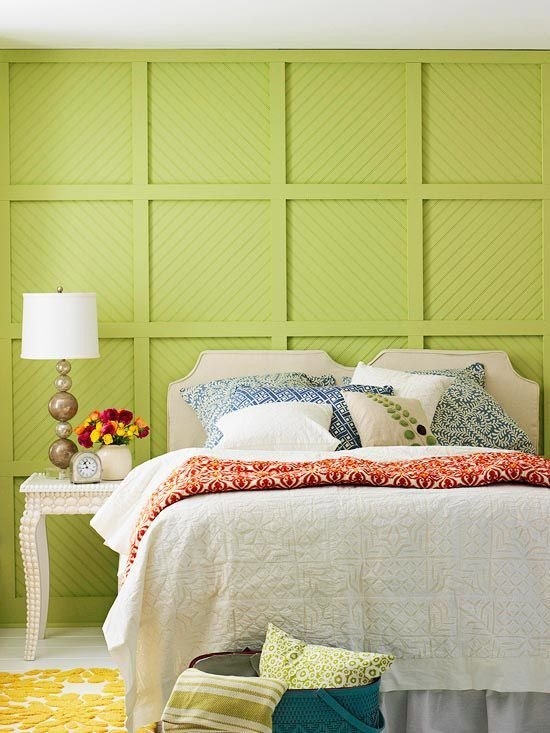 Best How To Decorate A Bedroom With Green Walls With Pictures