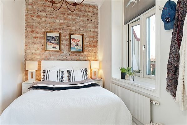 Best Tiny Apartment Renovation Featuring White Walls With Pictures