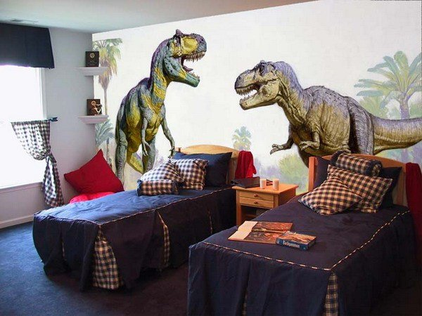 Best Wall Mural Inspiration Ideas For Little Boys Rooms With Pictures