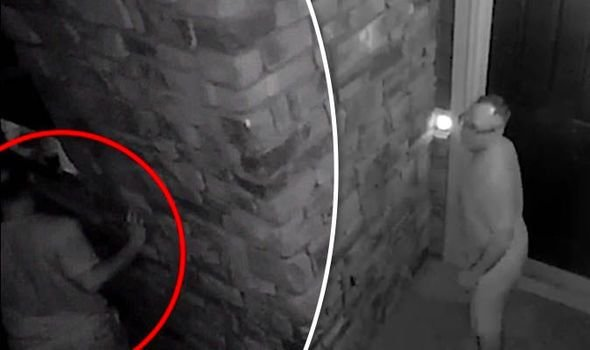 Best 'Peeping Tom Caught Spying On T**N Through Window In Dark With Pictures