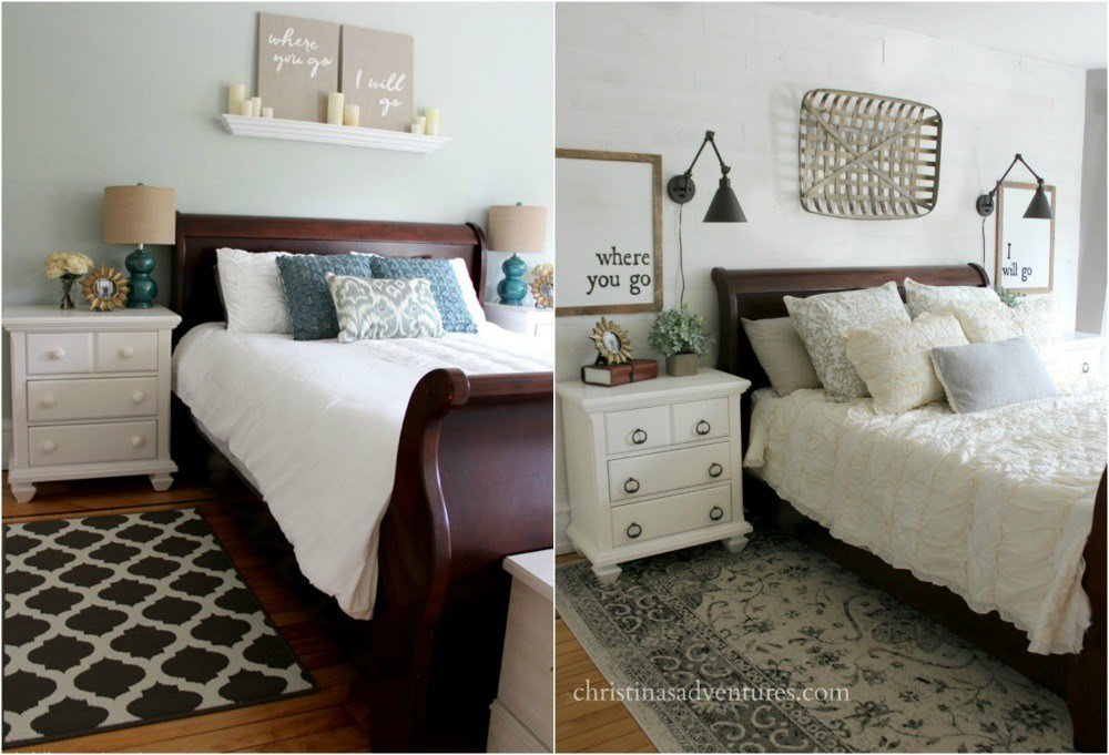 Best Farmhouse Bedroom Makeover Christinas Adventures With Pictures
